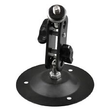 Wall Mount Round Base Flexible Bracket Stand for CCTV Camera Camcorder T1