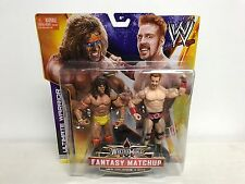 ULTIMATE WARRIOR vs SHEAMUS Fantasy Matchup Wrestlemania WWE action figure set