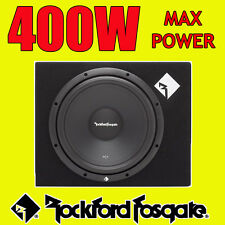 "Rockford Fosgate 12"" Inch 400w Car Audio Subwoofer Driver Sub Woofer + Bass Box"