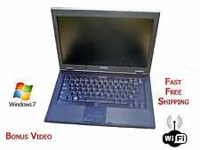 "Fast Dell Latitude Laptop 2.2 4GB RAM 160HDD 14.1"" HD Display WiFi Win7 Computer"