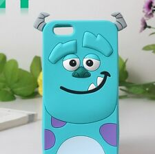 3D Cartoon Sulley Soft Silicone Back Cover For Apple iPod Touch 5 5G