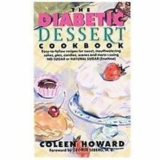 The Diabetic Dessert Cookbook-ExLibrary