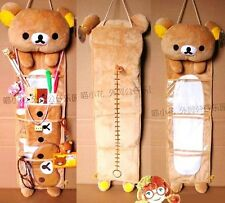 FD4300 Lovely Rilakkuma San-X Wall Hanging Storage Bag 3 Pockets ~X'mas Gift~