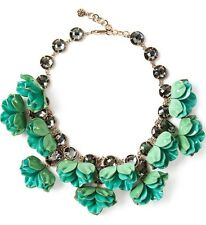 Tory Burch Pentier 3D Flower Necklace!! Nwt!! Msrp $495.00