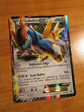 COBALION EX Pokemon Card PLASMA STORM Set 93/135 BW Black&White Ultra Rare BW