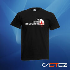 Camiseta the north remembers basado juego de tronos regalo humor (ENVIO 24/48h)