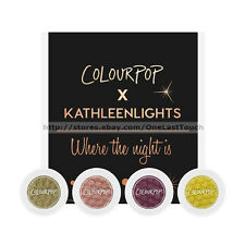 *COLOURPOP* 4pc  Set SUPER SHOCK Matte+Satin Luxe+More EYE SHADOW *YOU CHOOSE*