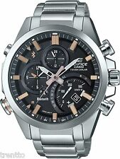 RELOJ CASIO EDIFICE BLUETOOTH SMART SOLAR WATCH CRONOGRAFO NEON EQB-500D-1A2ER