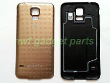 New Original Samsung Galaxy G900A Battery Door Cover W/ Seal + S/P S5  AT&T-GOLD