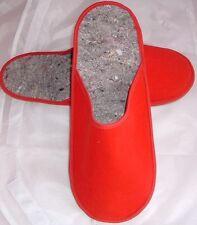 """Pantofole, tipo """"Museo Ciabatte"""" con Poro Suola-Rosso"""
