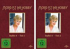 6 DVDs * MORD IST IHR HOBBY - STAFFEL 4 ( 4.1 + 4.2 ) # NEU OVP +
