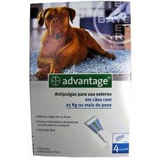 Advantage 400 - Antiparasitario para Perros de más de 25kg (4 pipetas)