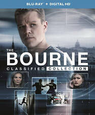 The Bourne Classified Collection (Blu-ray + DIGITAL) 4 MOVIE COLLECTION -NEW