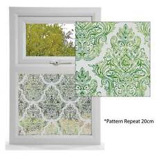 Damask Design Etched Window Film, Privacy Window Film Decorative Window Film,