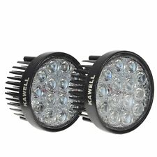 2X KAWELL 42W 30 Degree Round LED Spot Light Off Road Lighting 12V 24V Off Road