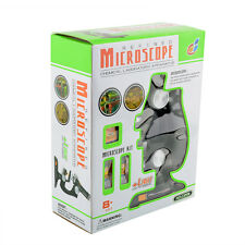 New Childrens Junior Laboratory Microscope Kids Educational Education Toy Learn