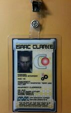 Dead Space ID Badge-Planet Cracker Starship Ishimura Isaac Clarke photo cosplay