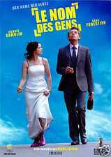 LE NOM DES GENS - JACQUES GAMBLIN - SARA FORESTIER - 2011 - FILMPOSTER A4