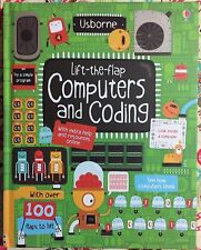 Usborne Lift-the-Flap Computers and Coding c2015 NEW Hardcover Board Book