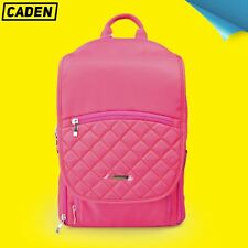 Woman Girls Pink DSLR Camera/Lens/Laptop Backpack Bag Case for Canon Nikon Sony