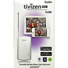 Tivizen Nano DVB-T Handy Empfänger Tablet,Apple,Samsung  [ White ]
