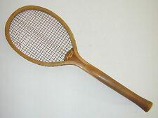 """""""Imperial"""" Fantail Handle Antique Vintage Tennis Racquet was Jeanne Cherry's"""