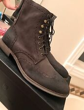 Andrew Marc $248 Mens Hillcrest Brown Casual Boots Shoes 12 Medium (D)