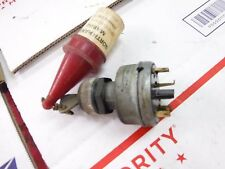 1973 MOTOSKI 440 ZEPHYR snowmobile parts:KEYED IGNITION SWITCH- 6 prong