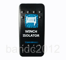 WINCH ISOLATOR Rocker Switch Blue Led 5P SPST ON/OFF For ARB HILUX JEEP NISSAN