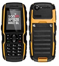 Sonim XP1520 BOLT SL Ultra Rugged Waterproof AT&T GSM Cellphone Great Condition