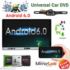 "Android 6.0 4G WIFI 7"" Double 2DIN Car Radio Stereo DVD Player GPS Nav Bluetooth"