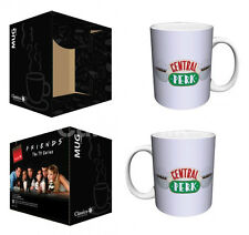 "FRIENDS ""CENTRAL PERK"" 12 oz COFFEE MUG Ceramic Friends TV Show NEW in BOX"