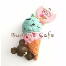 Bear's School Licensed Double Scoop Squishy Rare Collectible (Mint & Strawberry)