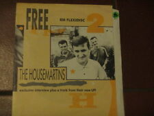 """vinyl 7"""" THE HOUSEMARTINS rare flexidisc exclusive interview plus a track from"""