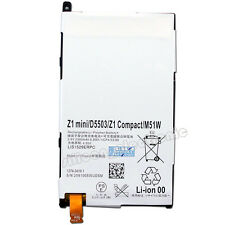 New 3.8V 2300mAh Battery For Sony Xperia Z1 mini D5503 Compact M51W LIS1529ERPC