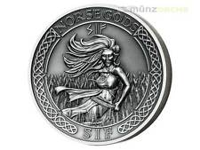 10 $ Dollar Norse Gods - Sif Ultra High Relief Cook Islands 2 oz Silber 2016