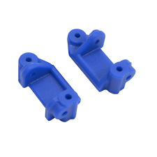 RPM Blue Front Caster Blocks (Slash 2wd , e-Rustler & e-Stampede 2wd) 80715