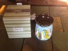 Retired Scentsy Warmer Surf's Up New In Box Hard To Find