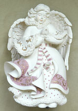 "Sarah's Angels RARE ""Faith"" Praying Angel Musical Box 30800, 7.5"""