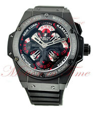 Hublot Big Bang King Power Unico GMT Black Ceramic, Ref # 771.CI.1170.RX