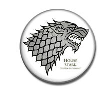 GAME OF THRONES SPILLA PIN STARK HOUSE WINTER IS COMING SPILLETTA TRONO DI SPADE