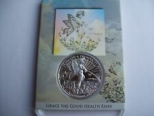 1 OZ SILVER COIN TOM GRINDBERG GRACE FAIRY HEALTH+PROSPERITY  MARVEL + DC ARTIST