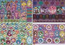 Sailor Moon - Metal Sheet Sticker Part 1 SET of 4 [MT] - Jumbo Seal Cards Outers