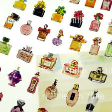 Perfume Bottle Style Transparent Diary Deco Stickers Labels Scrapbook Journal