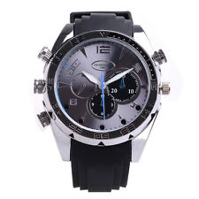Full HD 1080P IR Night Vision 8GB Waterproof Watch Camera SPY DVR Camcorders Cam