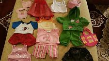 Build A bear Vintage Used Clothing Lot 15 Pieces EXCELLENT  L@@K!!