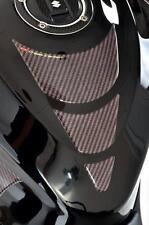 Kohlefaser Faser Optik Tank Schutz Beläge - Passend für Benelli Motorräder