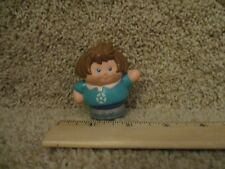 Vintage Little Tikes tots Chunky People toddle Jessica soccer mom girl house toy