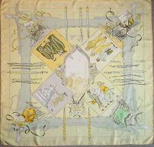 HERMES LE CARNAVAL DE VENISE Foulard carré silk rare collector scarf excellent