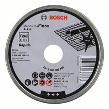 100 Genuine Bosch 115mm 2608603254 Inox Metal Cutting Discs 3165140668866 PP